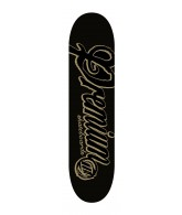 Premium Skateboards Scrawl Black - 8.5 - Skateboard Deck