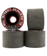 Divine Street Slayers - Black - 72mm - Skateboard Wheels