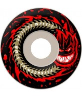Spitfire Psycho Swirl 53mm - Black/Red - Skateboard Wheels