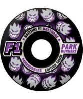 Spitfire Wheels F1 Parkburners Classic - Black - 52mm - Skateboard Wheels