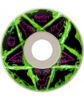 Spitfire Wheels Pentagram - Green - 54.5mm - Skateboard Wheels