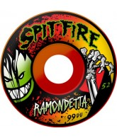 Spitfire Wheels Ramondetta Livevil Swirl - 52mm - Skateboard Wheels