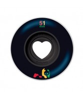 Enjoi Rasta Panda Hollowcore - Black - 51mm - Skateboard Wheels