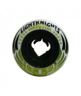 Darkstar Wheels Black/White Light Knight - 52mm - Skateboard Wheels
