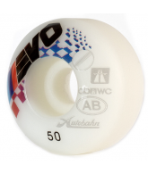 Autobahn Evo 53mm - White - Skateboard Wheels