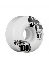 Bones O.G. Formula 100 V4 - 51mm - White - Skateboard Wheels
