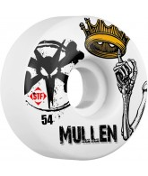 Bones STF Pro Mullen Crown - White - 54mm - Skateboard Wheels