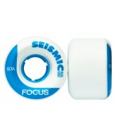 Seismic Focus - White - 55mm/97a - Skateboard Wheels