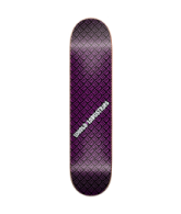World Industries W Pattern - Puple - 7.8 - Skateboard Deck