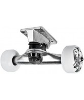 Speed Demons Bandana Truck/Wheel Combo - Raw Finish - 5.0 - Skateboard Truck