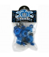 Thunder Rebuild Kit - Blue - 95du - Skateboard Bushing Rebuild Kit