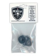 Khiro Barrel Bushing Without Washers - 95 - Black - Skateboard Bushings