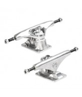 Mini Logo Rough Polished Trucks - 7.63 - Skateboard Trucks