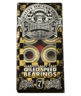 Speed Demons ABEC 7 Bearings Oil 8 Pack - Skateboard Bearings