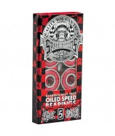 Speed Demons ABEC 5 Bearing Red 8 Pack - Skateboard Bearings