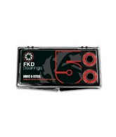 FKD Clear Case Abec 5 - Skateboard Bearings