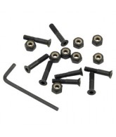 Independent Genuine Parts Allen Hardware 1 in - Black - Skateboard Mounting Hardware