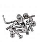Independent Genuine Parts Allen Hardware Silver 7/8 in - Skateboard Mounting Hardware