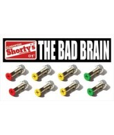 "Shorty's 1"" Bad Brain Set - Skateboarding Mounting Hardware"