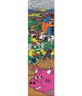 Mob World Industries Barnyard Griptape 9in x 33in - 1 Sheet - Skateboard Griptape
