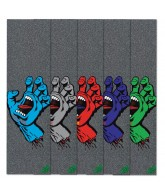 Mob Santa Cruz Screaming Hand Assorted Grip Tape 9in x 33in  - 1 Sheet - Skateboard Griptape - Assorted Colors