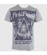 Pink Floyd Live - Grey - Band T-Shirt