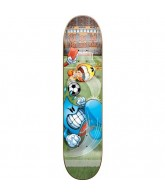 World Industries Soccer Nuts - Green - 7.6 - Complete Skateboard