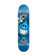 World Industries Raw Wet Willy Mini - Blue - 7 - Complete Skateboard