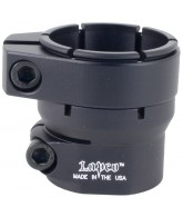 Lapco 7/8 Universal Ultra Low-Rise Clamping Feed Neck - Dust Black