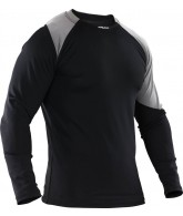 Dye Balance Top Long Sleeve Shirt - Black