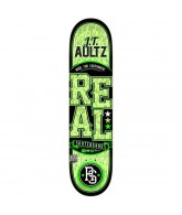 Real Aultz Lock Up Glow - Green - 8.06 - Skateboard Deck