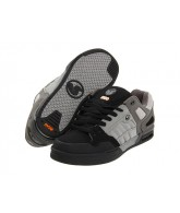 DVS Throttle - Black/Grey Nubuck - Skateboard Shoes