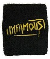 Sly Infamous Wrist Sweat Band - Black