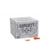Valken Infinity Paintball Case 100 Rounds - Orange Fill