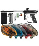 2012 Proto Reflex Rail Paintball Gun w/ Rotor Loader - Black/Grey Dust
