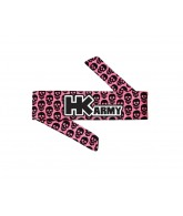 HK Army Headband - HK Mini Skull Pink