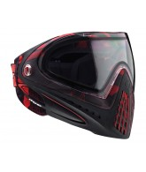 2013 Dye Invision Goggle I4 Pro Mask - Cubix Red