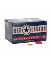 Red Legion Paintballs Case 1000 Rounds - Orange Fill