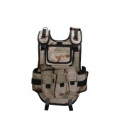 RAP4 Tactical Body Armor Paintball Vest - Desert Camo