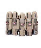 GI Sportz 5+6 Glide Paintball Harness - Multicam