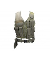 Gen X Global Tactical Airsoft Vest - Olive