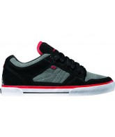 Globe Tyrant - Men's Shoes Black / Charcoal / Red
