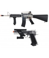 Colt On Duty Airsoft Rifle & Pistol Kit