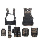 Angel Fat Boy Molle Vest - Digi Camo