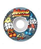 World Industries Street Fight 50mm, Set of 4 - Skateboard Wheels