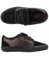 Vans Chukka Low Snow - Men's Shoes Black / Orange