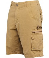 Dye Afflicted Men's Cargo Shorts - Bone
