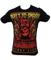 Contract Killer Frankenfeight T-Shirt - Red/Yellow