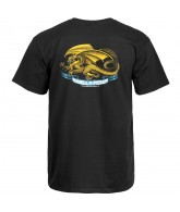 Powell-Peralta Oval Dragon T-shirt - Black - T-Shirt