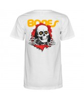 Powell-Peralta Ripper T-Shirt - White - T-Shirt